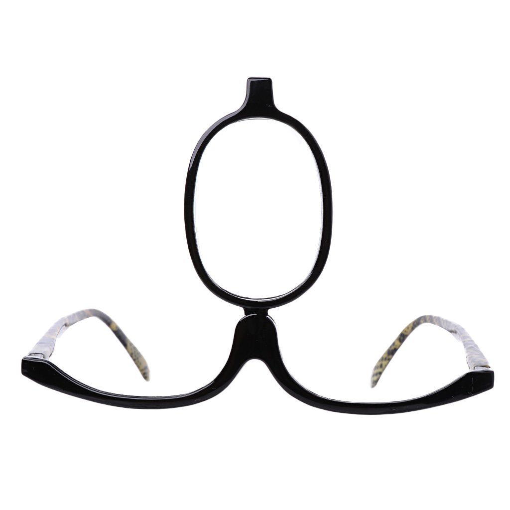 3,0,+3,5,+4,0 Fogun Lesebrillen,Damen Schminkbrille Make up Brille,+1,5 +2,0 +2,5 1.5