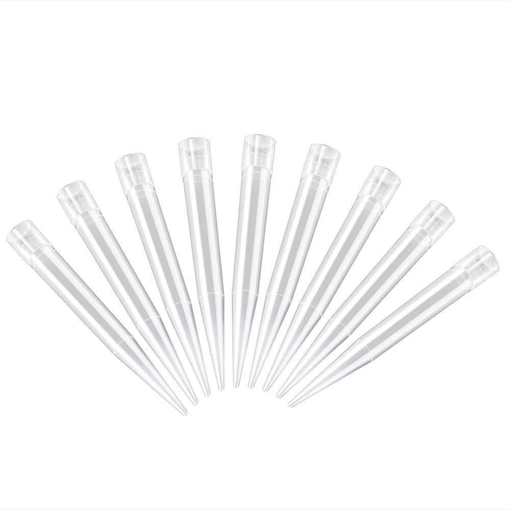 Laboratory Pipette Tips, Four E' S Scientific Clear Disposable 100-1000ul Universal Liquid Pipettor Tips DNase/RNase free, Pack of 480 Four E' S Scientific Clear Disposable 100-1000ul Universal Liquid Pipettor Tips DNase/RNase free 90314007