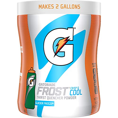 Gatorade Frost Glacier Freeze Sports Drink Powder, 18.3 Ounce, 12 Count (Makes 2 Gal Each)