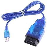 EXZA® OBD2 EOBD Tech2 USB Opel Auto Diagnose Kabel Car Diagnostic Cable Interface