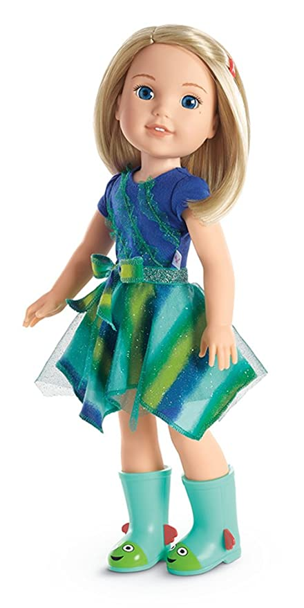 amazon com american girl welliewishers camille doll toys games