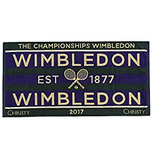 Wimbledon Lady Tennis Towel 2017 von Christy 131 Years Wimbledon 1xmjCN6
