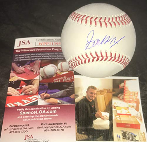 Gavin Lux Los Angeles Dodgers Autographed Signed Official Major League Baseball JSA WITNESS COA ()