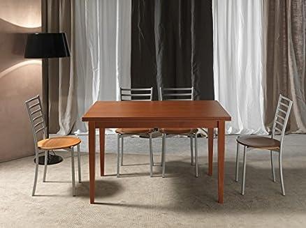 tavolo allungabile in legno soggiorno cucina ciliegio wenge ... - Tavolo Soggiorno Wenge 2