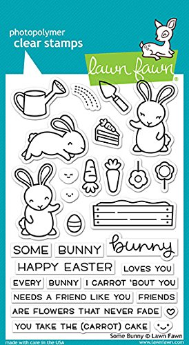Lawn Planter (Lawn Fawn Clear Stamps LF1587 Some Bunny)