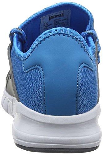 blå Blå Grå Sirius Fitness Kvinners Lonsdale Sko XRnBq