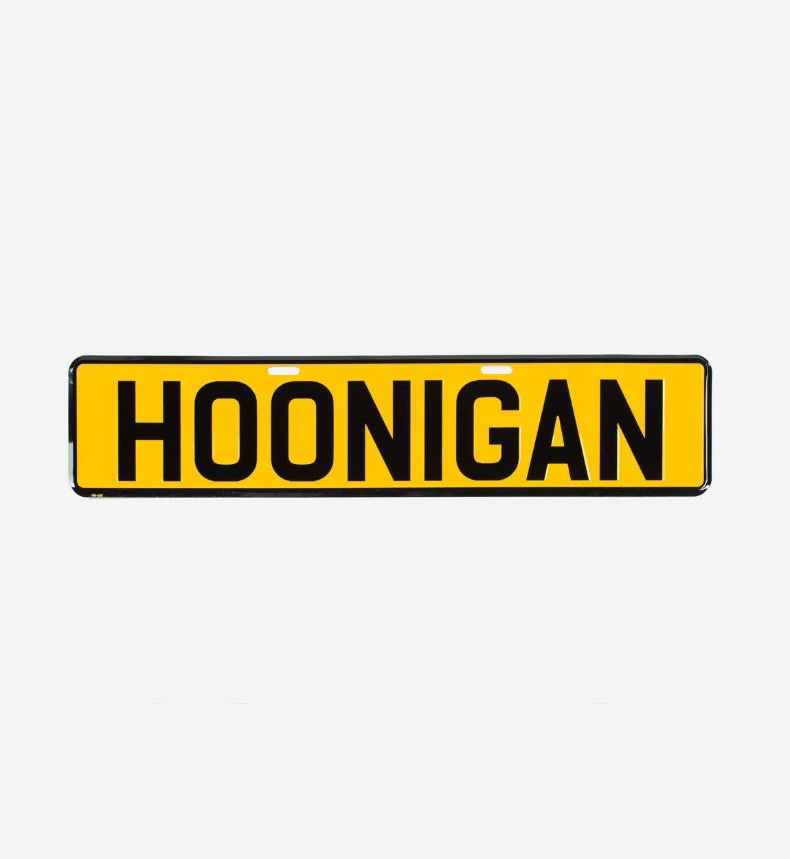 Hoonigan EU License Plate