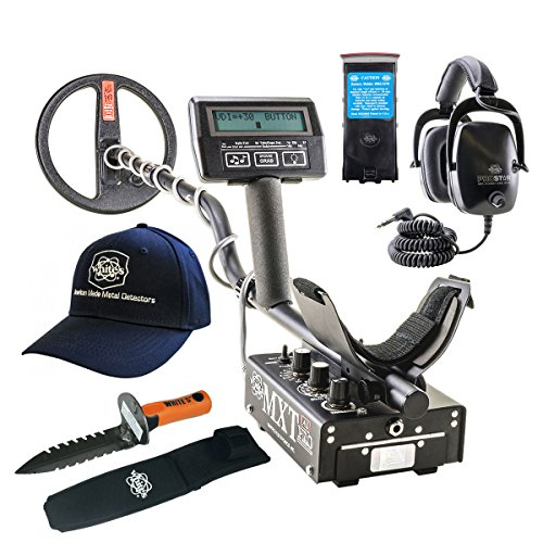 Whites MXT All Pro Metal Detector GEARED UP Bundle by MXT All Pro
