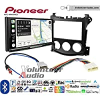 Volunteer Audio Pioneer AVIC-W8400NEX Double Din Radio Install Kit with Navigation, Apple CarPlay and Android Auto Fits 2009-2016 Nissan 370Z