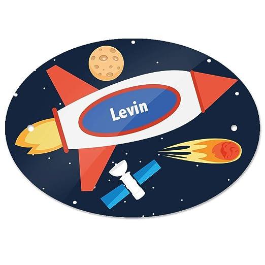 Eurofoto - Cartel para Puerta con Nombre de Levin y diseño ...
