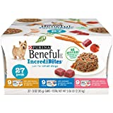 Purina Beneful Incredibites Adult Wet Dog Food Variety Pack – (27) 3 Oz. Cans Review