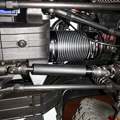 PQZATX Duty Drive Shaft Steel Universal Joint Steel For Trx4-4 1//10 Rc Car Short Long Drive Shaft-Red