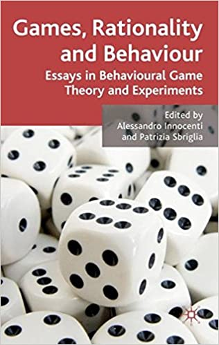 Games Rationality And Behaviour Essays On Behavioural Game Theory  Games Rationality And Behaviour Essays On Behavioural Game Theory And  Experiments Th Edition Healthy Living Essay also Buy Business Plan Online  Health Is Wealth Essay