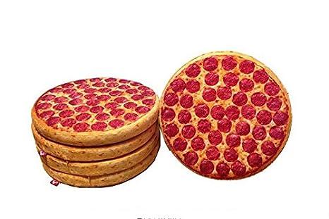 Original cojin diseño pizza para jardin terrazas cocina ...