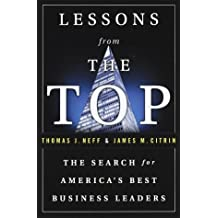 Lessons from the Top: In Search of America's Best Business Leaders