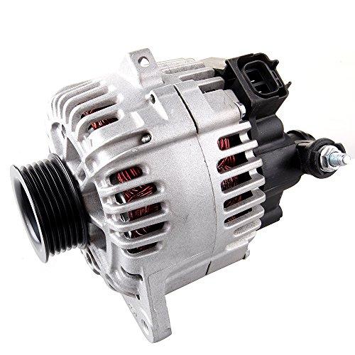 OCPTY Alternators AMN0014 11015 fit for Hyundai Santa (Fe) 2002-2004 Kia Optima 2002 2003 2004 2006 2.7L 110A/12V 6-Groove Pulley IR/IF