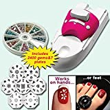 Northwest Innovation Beauty Tools Nail Painting Arts Device Kits All-In-One Nails Art Machine For Women Nail Printing Kit