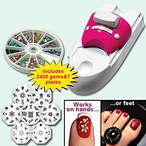 Northwest Innovation Beauty Tools Nail Painting Arts Device Kits All-In-One Nails Art Machine For Women Nail Printing Kit (Nail Art Painting)