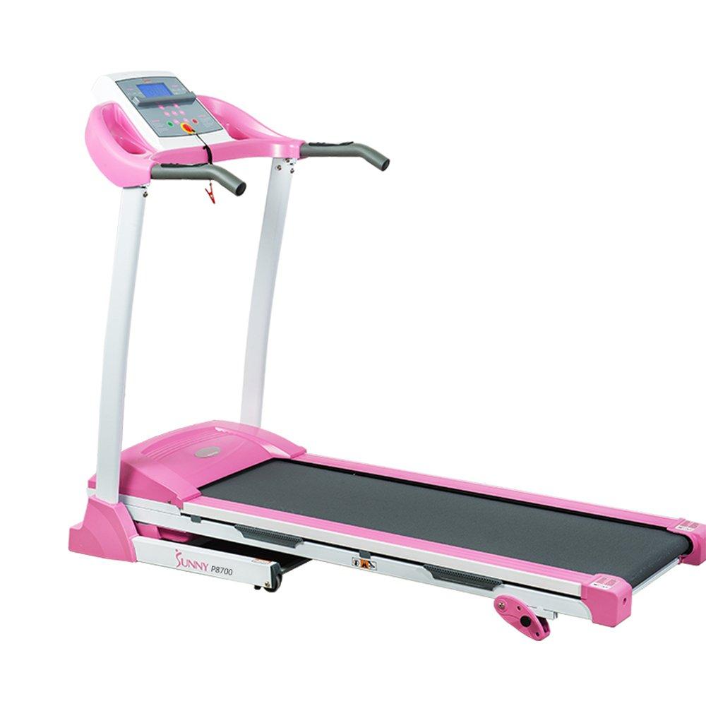 Sunny Health & Fitness P8700 Pink Treadmill by Sunny Health & Fitness (Image #2)