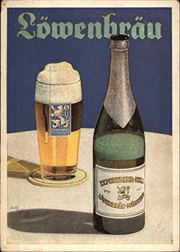 Lowenbrau Beer Breweriana Original Vintage Postcard from CardCow Vintage Postcards