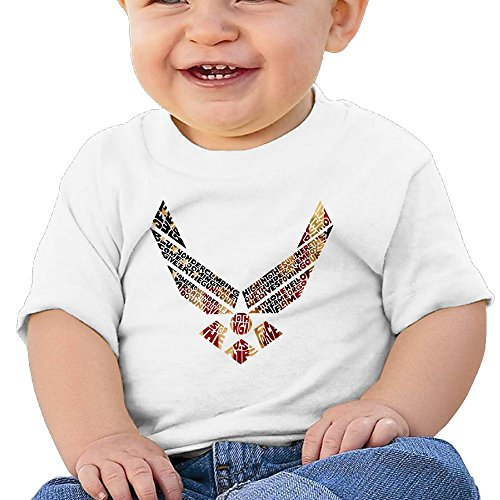 Lil Wayne Vice (BeiLMH Unisex-Baby/Toddler/Infant USA Flag Air Force Shirts)