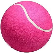 "MonkeyJack 20cm / 8"" Big Tennis Ball Pet Toy Competition Souvenir Signature Ball"
