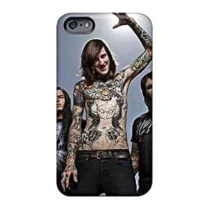 High Quality Mobile Case For Apple Iphone 6plus With Unique Design Colorful Megadeth Band Image Phonecaseforall