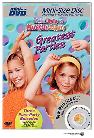 Amazon Com You Re Invited To Mary Kate Ashley S Greatest Parties