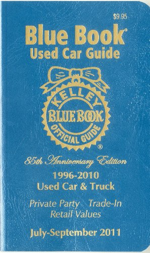 Kelley Blue Book Used Car Guide July-September 2011