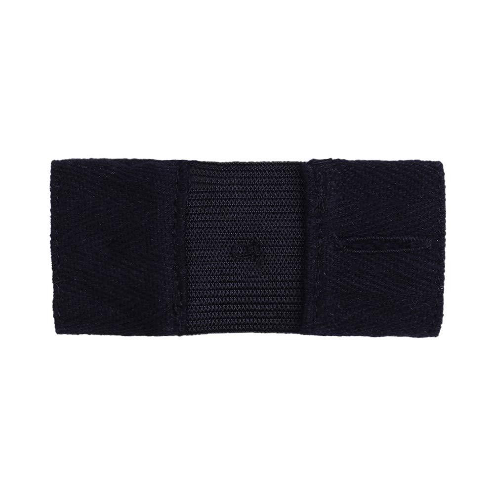 Pantalones Vaqueros Pantalones y Falda Negro SUPVOX Extensor de Cintura Extensor de bot/ón con bot/ón de Metal para Hombres Pantalones