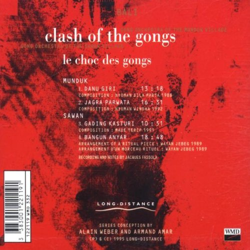Clash of the Gongs by Long Distance France