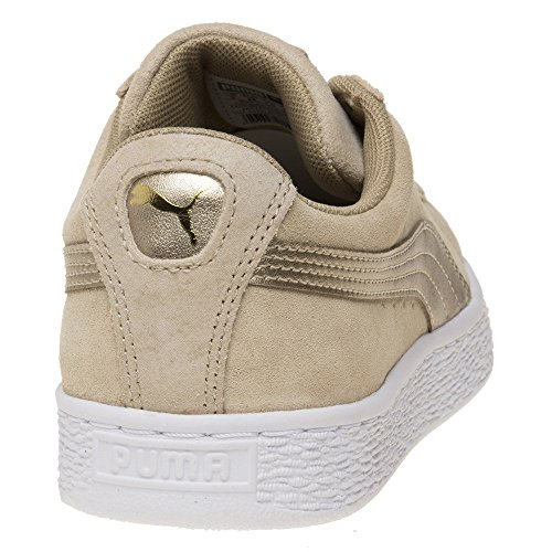 Classic Mode Femme Puma Taupe Suede Baskets 13FJclKT