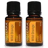 wild orange oil - doTERRA Wild Orange Essential Oil 15 ml by doTERRA,pack of 2