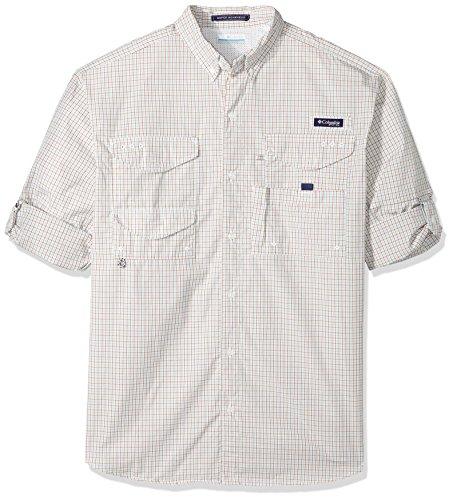 Columbia Men's Super Bonehead Classic Big & Tall Long Sleeve Shirt, Moxie Mini Check, 3X