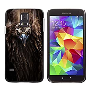 Planetar® ( Bird Beak Feathers Nature Animal Condor ) SAMSUNG Galaxy S5 V / i9600 / SM-G900F / SM-G900M / SM-G900A / SM-G900T / SM-G900W8 Fundas Cover Cubre Hard Case Cover