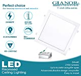 Gianor 11 inch 24W Ultra Thin Square Recessed Light