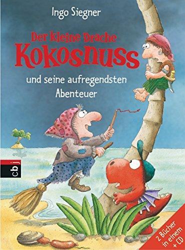 Der kleine Drache Kokosnuss und seine aufregendsten Abenteuer: Doppelband mit CD (Sammelbände, Band 7)