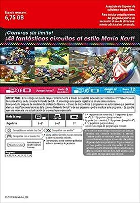 Mario Kart 8 Deluxe | Nintendo Switch - Código de descarga: Amazon ...