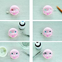 Small For Gum Paste and Fondant Polymer Clay Figure Modeling by Autumn Carpenter by Sweet Elite Tools Sweet Elite Tools- Eye Tool