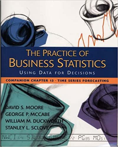 Book The Practice of Business Statistics Companion Chapter 13: Time Series Forecasting