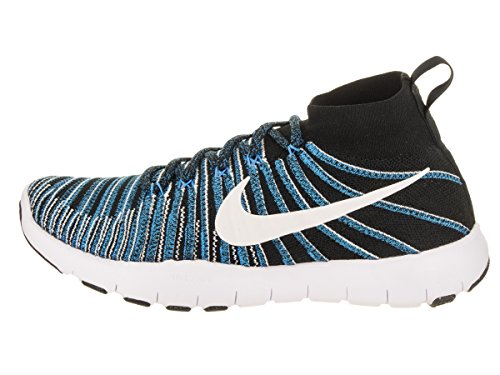 Nike Train Herren Force Black Turnschuhe Flyknit Free White Glow Blue rqTrn7gCx