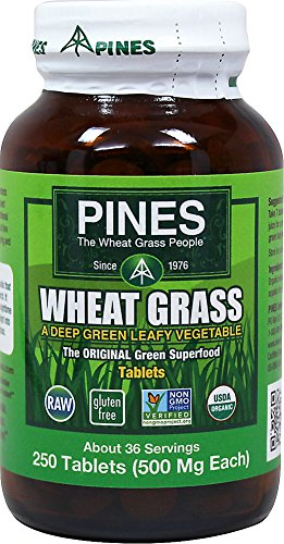 (Wheat Grass 500 Milligram Pines 250 Tabs)
