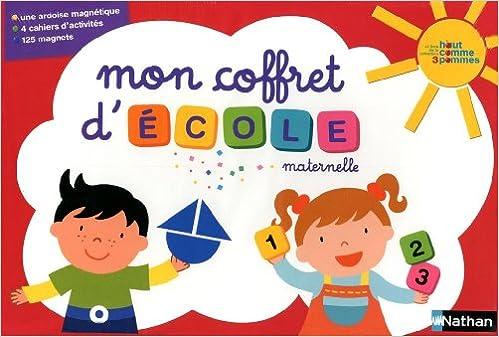 Mon coffret d'école maternelle pdf, epub ebook