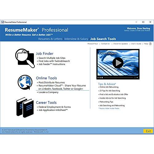 amazoncom resumemaker professional deluxe 20