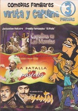 Comedias Familiares (3 Pk) Capulina Vs Las Momias / La Batalla De Los Pasteles / El Camino De Los - Pastel Dvd