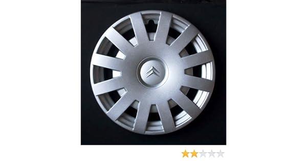 Wheeltrims Set de 4 tapacubos Citroen C3 / C1 / C2 / C4 / C5 / C8 / Nemo/Berlingo / Xsara Picasso con Llantas Originales de 15: Amazon.es: Coche y moto