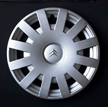 Wheeltrims Set de 4 tapacubos Citroen C3 / C1 / C2 / C4 / C5 /