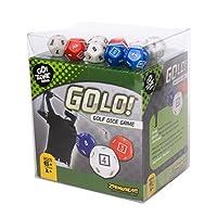 Juego de dados de golf GOLO | Para golfistas, familias y niños | Divertido juego portátil para el hogar, viajes, camping, vacaciones, playa | Ganador del premio