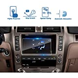 2014-2018 Lexus GX 460 8 Inch Car Navigation Screen Protector, LFOTPP TEMPERED GLASS Infotainment Display In-Dash Media Center Touch Screen Protector Scratch-Resistant