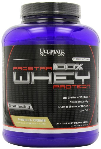 Ultimate Nutrition Prostar 100% Whey Protein 2.39Kg Vanilla Creme